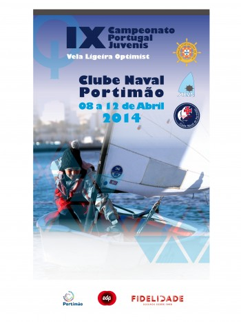 Cartaz Campeonato Nacional de Optimist