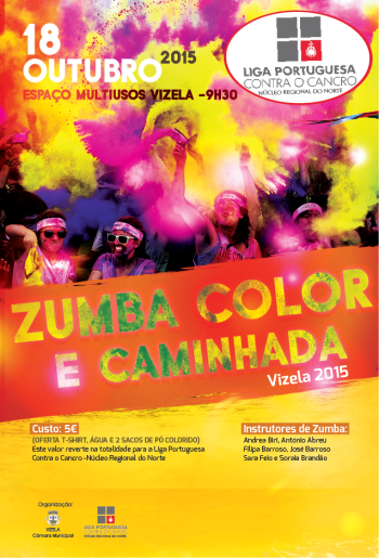 cartaz zumba color