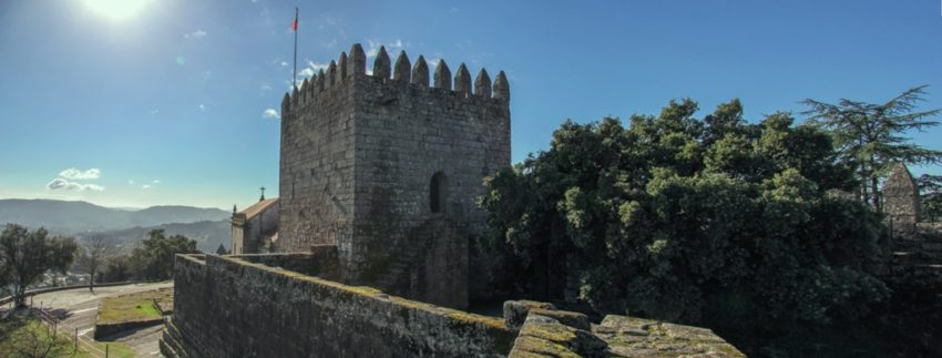Panoramica do Castelo de Lanhoso
